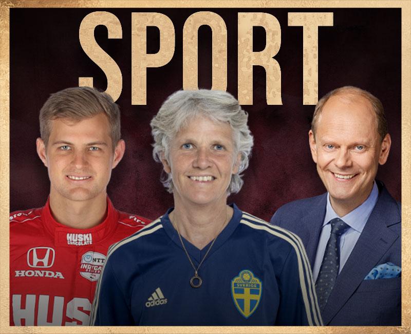 LoungePoddens avsnitt om sport och idrott med idrottsprofiler och sportprofiler som Pia Sundhage, F1 och IndyCar föraren Marcus Ericsson och framgångsrika journalisten Lasse Granqvist och UFC och Fotbollsprofiler
